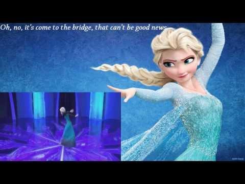 Idina Menzel's Disney Song Let It Go Parody