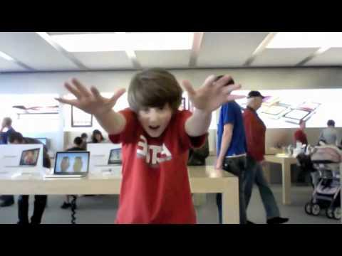 WIN - Apple Store Dance for the song Born This Way