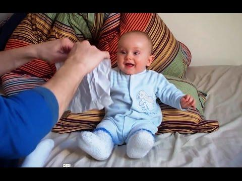 Babies Find Ripping Paper Sound Really Hilarious