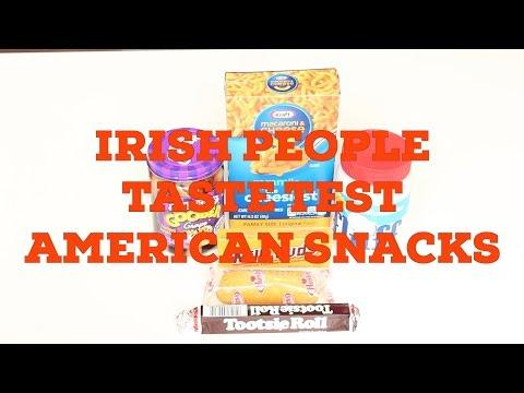 American Snack Food Tasted By Irish People For The First Time