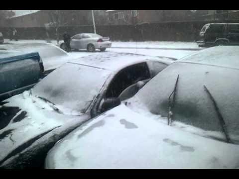 Crazy - 20 Car Pile Up On A Snowy Day
