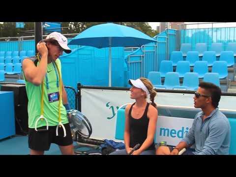 Pranks - Impersonator Fools People At Australia Open