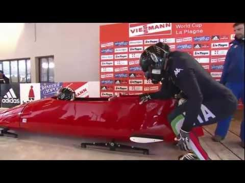 How NOT To Ride The Bobsled - FAIL