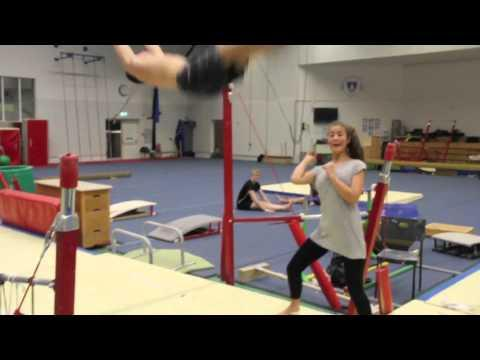 Awesome - Gymnastic Basketball Shot