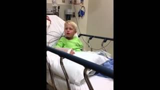 Kid Sees Double Of Everything After Surgery