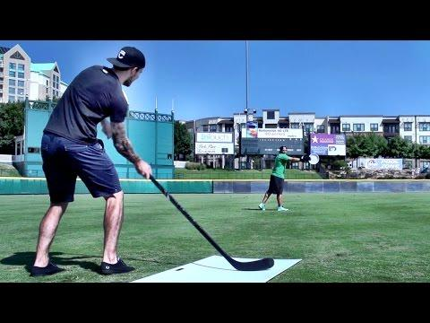 Hockey Trick Shots By Dallas Stars Jamie Benn And Tyler Seguin