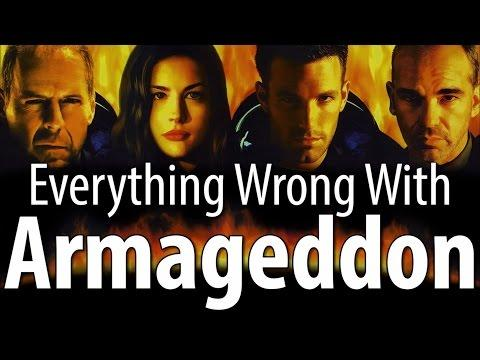 Movie Mistakes From Armageddon