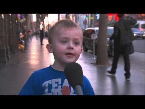 Jimmy Kimmel - Kid Tries To Explain The Christmas Story