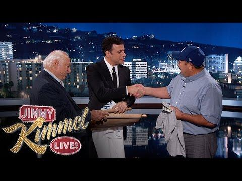 Man Who Rescued The Old Man From Burning House Gets Surprised By Jimmy Kimmel