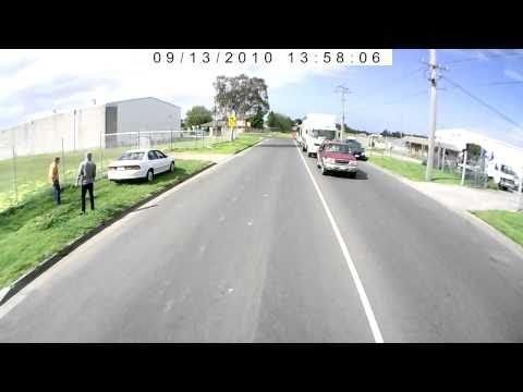 FAIL - Impatient Driver Destroys Car