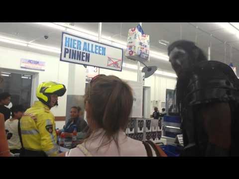 Uruk Hai Goes Grocery Shopping