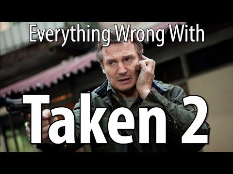 Movie Mistakes From Taken 2