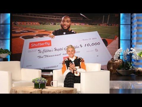 Ellen Offers Her Support To Cincinnati Bengal Devon Still