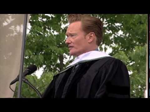 Conan O'Brien - Commencement Speech At Dartmouth College