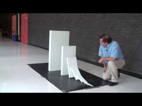 Amazing - Small Domino Takes Out 50% Larger Domino