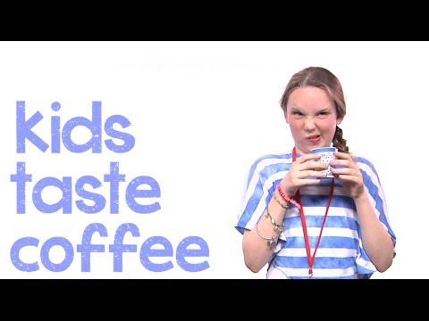 Funny Kids Reaction To Coffee