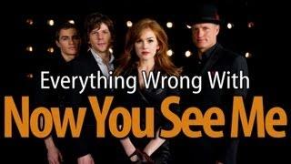 Movie Mistakes From Now You See Me