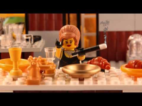 Famous Movie Scenes Recreated Using LEGO Bricks