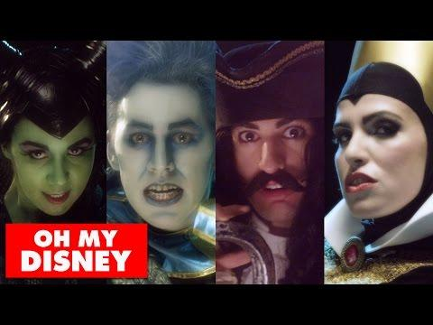 Disney Villains Do A Cover Of One Republic's Counting Stars Song