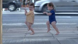 Funny And Cute Baby And Me Advertisement