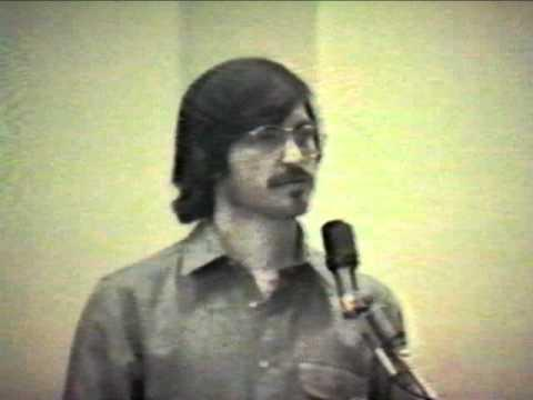 Steve Job's Presentation From The 80s