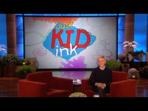 Ellen - Funny Letters And Drawings By Kids