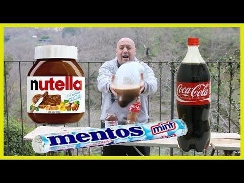 Italian Guy's Mentos, Coke, And Condom Experiment