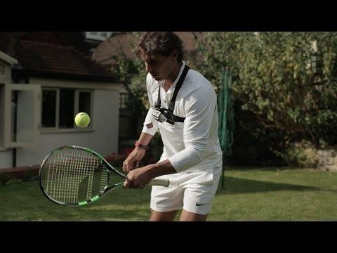 Rafael Nadal Shows Off Juggling Skills