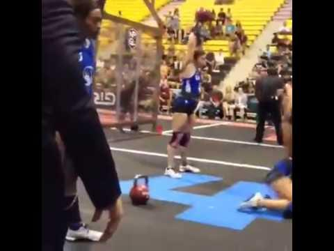 Funny CrossFit Kettlebell Workout Fail