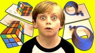 Funny Kids Reaction To Illusions