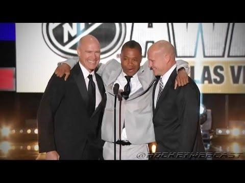 Cuba Gooding Jr Hosts The NHL Awards