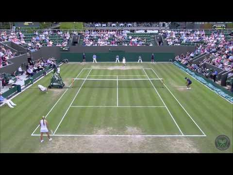 Pigeons Take Over Wimbledon Tennis Match
