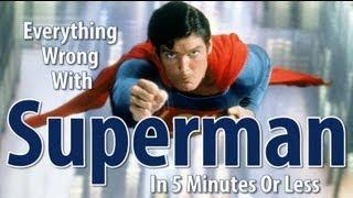 Movie Mistakes From Superman