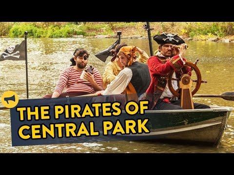 Pirates Invade The Central Park Prank