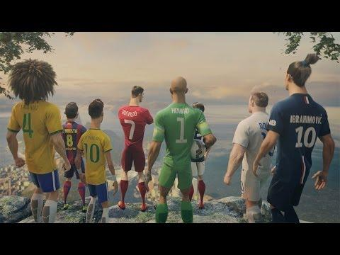 The Last Game Animated Ad By Nike Featuring Ronaldo, Neymar Jr, And More