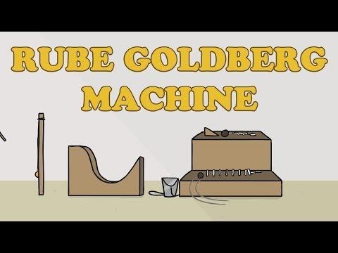 This Rube Goldberg Machine Is A Jerk