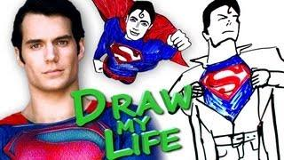 Draw My Life Version Of Superman