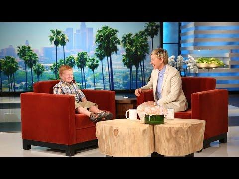 Ellen Meets The Cute Apparently Kid Noah
