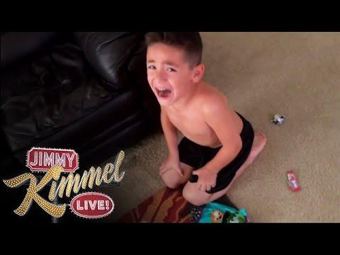 Hey Kids I Ate All Your Halloween Candies Prank By Jimmy Kimmel And Parents
