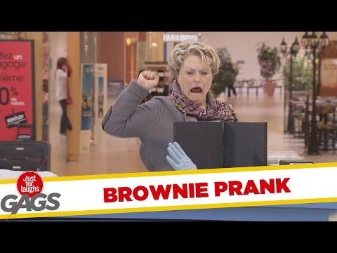Don't Touch The Brownie Prank