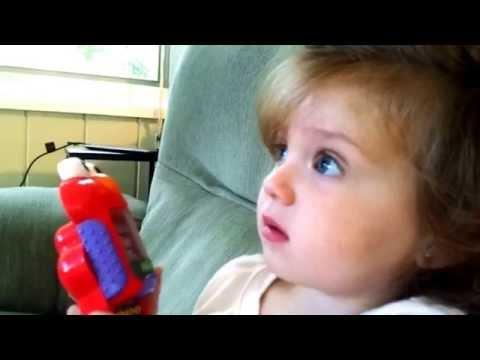 Adorable Little Girl's Reaction To Shuttle Launch