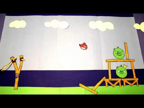 Creative - Angry Birds Stop Motion Animation