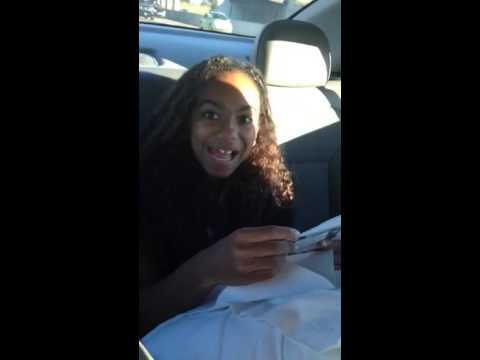 12 Years Old Girl's Funny Reaction To Lorde Concert Surprise