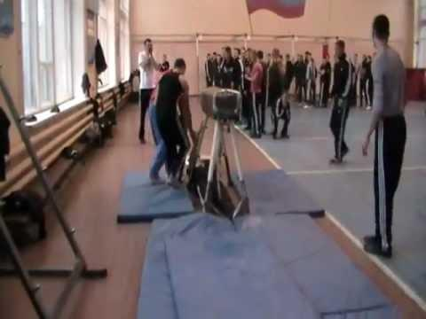 FAIL - How NOT To Do A Flip In Gym Class