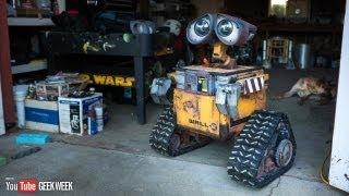 Life-Size Wall-E Robot Created By Mike McMaster
