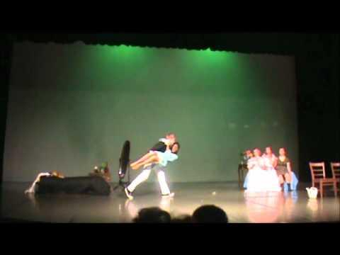 FAIL - Guy Drops A Girl On Stage