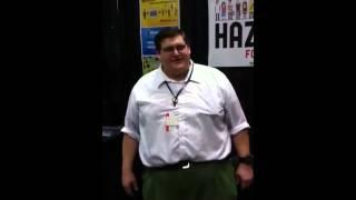 Peter Griffin From Family Guy Goes To Comic Con