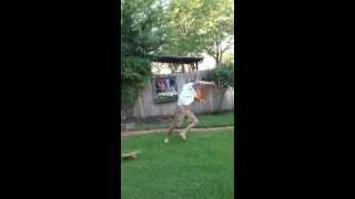 Cartwheeling In The Backyard FAIL