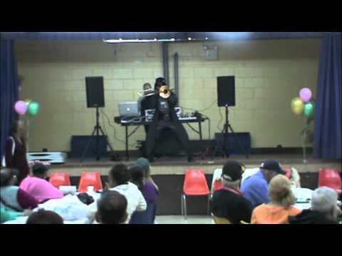 Darth Vader - Darth Vader Playing Trombone And Dancing