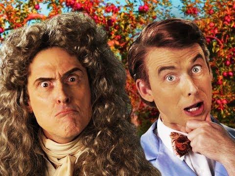 Epic Rap Battle Between Bill Nye The Science Guy Vs Sir Isaac Newton
